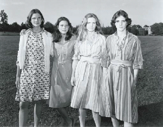 The Brown Sisters, 1976
