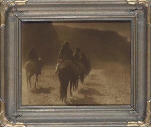 Vanishing Race, Navaho, 1904