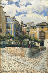 Una plaza de Toledo