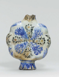 A SAFAVID BLUE AND WHITE AND S