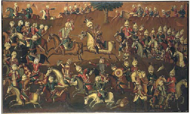THE BATTLE OF THE SAFAVID AND