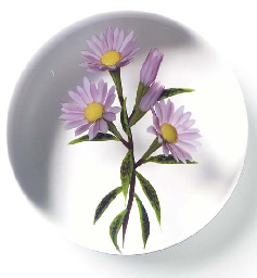 A CHRIS BUZZINI FLOWER SPRAY W