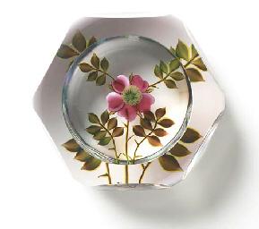 A PAUL STANKARD FACETED FLOWER