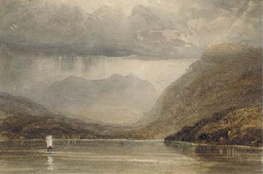 A passing shower, Loch Lomond