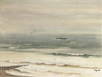 Trawler offshore