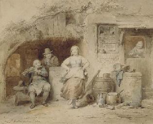 Ferdinand (I) de Braekeleer (Belgian, 1792-1883)