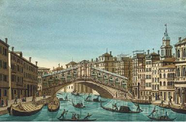 Venice:  The Rialto Bridge (il