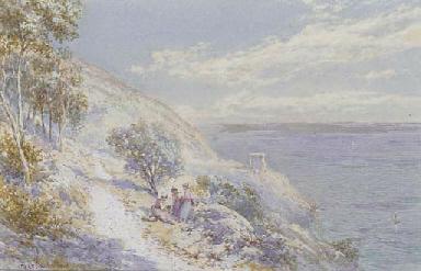 On the coast at Genoa, near St
