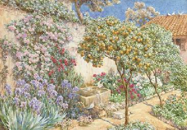 An Italianate garden