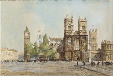 Westminster Abbey (illustrated