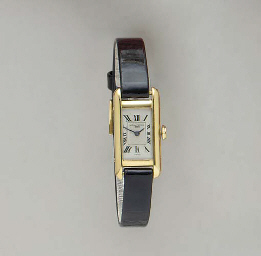 AN 18K GOLD WRISTWATCH, BY VAC