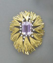 A GROUP OF GOLD AND GEM-SET JE