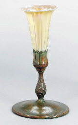 A TIFFANY STUDIOS PATINATED BR