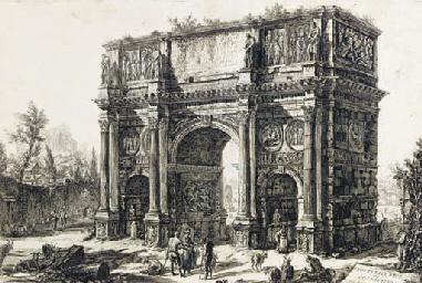 Veduta dell'Arco di Costantino