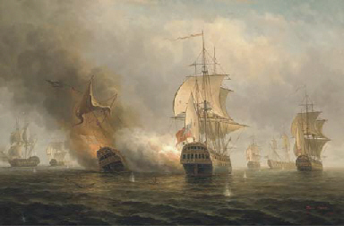 A naval engagement