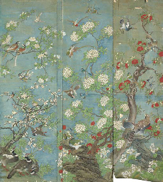 A SET OF CHINESE EXPORT PAINTE