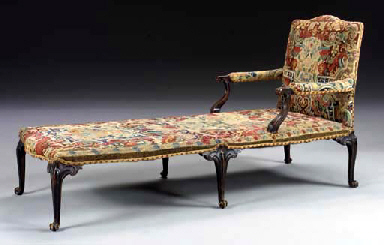 A GEORGE II STAINED-FRUITWOOD
