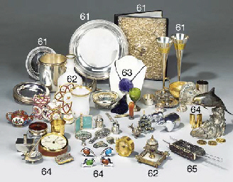 An English hall marked silver