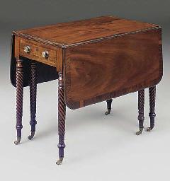 A William IV mahogany and rose
