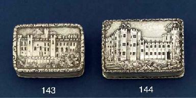 A William IV vinaigrette