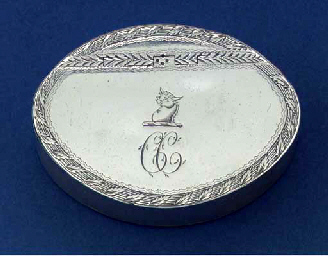 An Irish Provincial snuff box