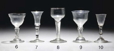 An airtwist wine-glass with a
