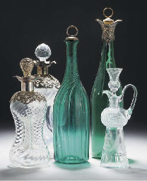 A quantity of glass