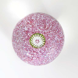 A St Louis miniature pink jasp
