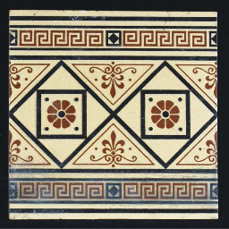 Ten Minton Tiles