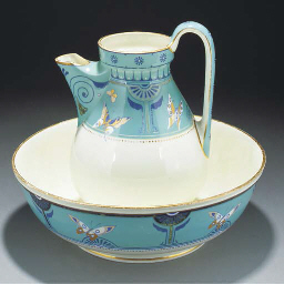 A Brownfield Ewer and Basin