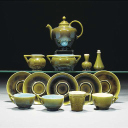 A Linthorpe Part Tea Set