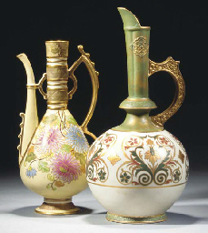 An Old Hall Ewer