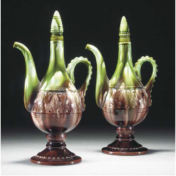 A Pair of Ault Coffee Pots and