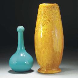 A Burmantofts Faience Vase