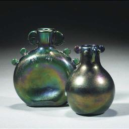 A Webb 'Bronze Ware' Vase