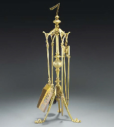 A Benham and Froud Brass Fire