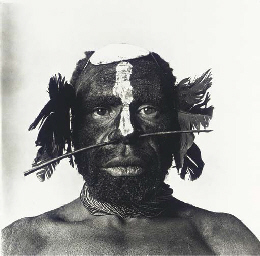 Tribesman with Nose Ornament,