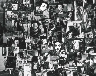 Collage, circa 1956