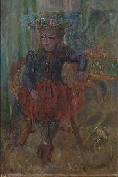 Portrait de la fille de l'arti