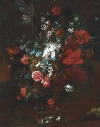 Roses, peonies, narcissi, morn