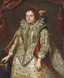 Portrait of Lady, three-quarte