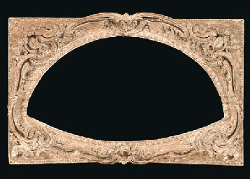 A FRENCH LOUIS XV CARVED AND S