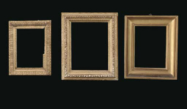 A GROUP OF THREE FRAMES