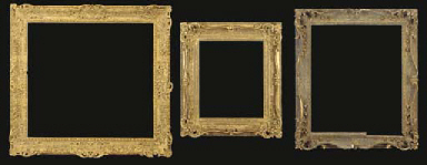 An English 19th century gilded