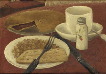 Still Life with Knife and Fork