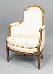 A PAIR OF LOUIS XVI STYLE BEEC