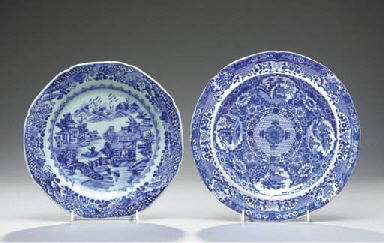SEVEN CHINESE EXPORT PORCELAIN