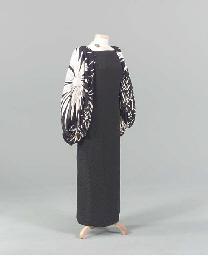 AN ADOLFO EVENING DRESS