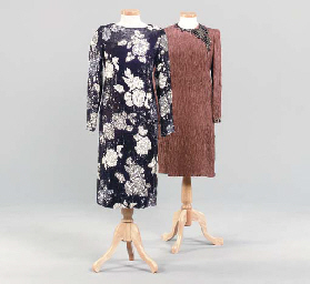 TWO COCKTAIL DRESSES