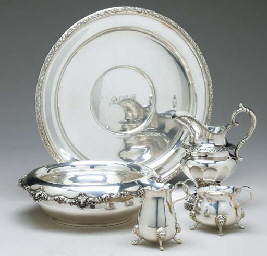 A GROUP OF AMERICAN SILVER TAB